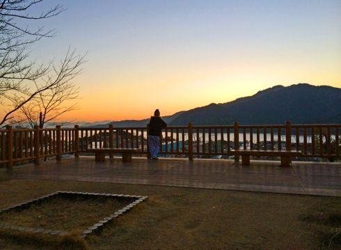 宮島からの朝日の画像2