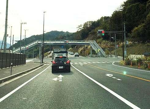 可部バイパス 延長部分が開通、渋滞緩和へ