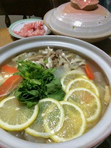 レモン鍋 レシピと作り方