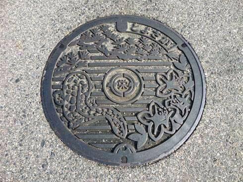 東広島市豊栄町のマンホール