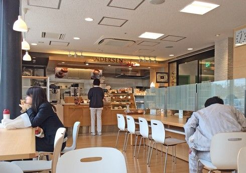 アンデルセンカフェ広島西医療センター店 店内の様子3