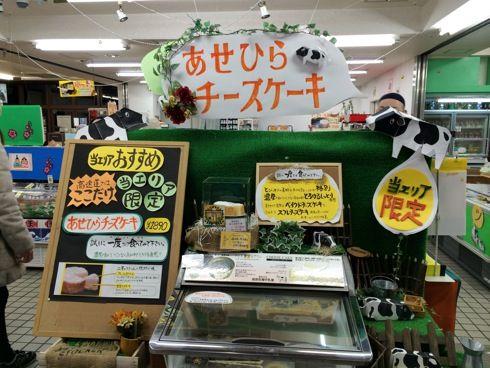 あせひらチーズケーキ(安瀬平) 七塚原SA