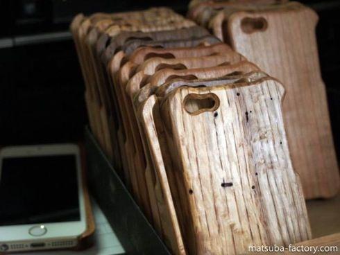 木製iPhoneケース 4
