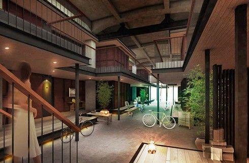 ホテルサイクル(ONOMICHI U2)、尾道に日本初の自転車でチェックイン出来るホテル