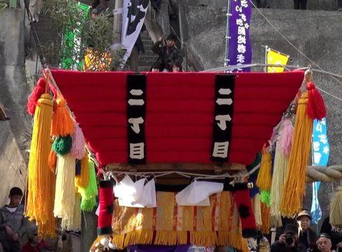 三原 ふとんだんじり(能地春祭り) のだんじり