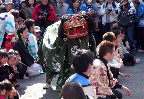 三原 ふとんだんじり(能地春祭り) 獅子太鼓2