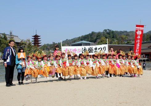 宮島清盛まつり2014 の様子 画像6