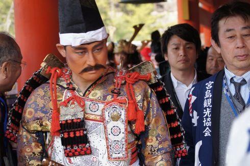 宮島清盛まつり2014 前田智徳 画像2