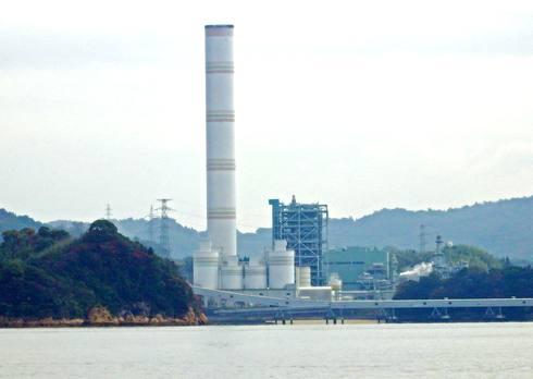長島の 大崎発電所の画像