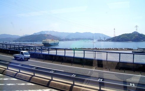 広島の景色、めいぷるスカイから眺める