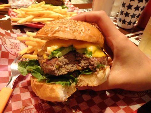 福山 ブギーバンズ ハンバーガー画像5