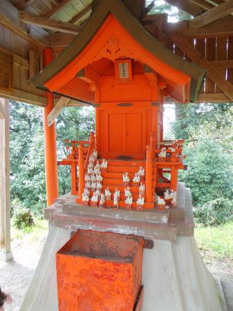 三刀屋城址 稲荷神社