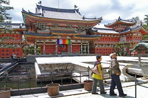 耕三寺の平等院鳳凰堂