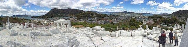 未来心の丘からパノラマ景色