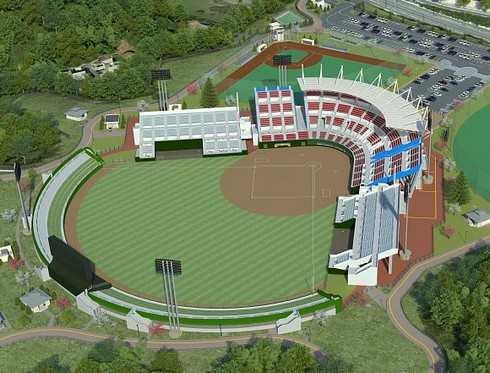 岩国市にスタジアムなど米軍と市民が共用できる運動施設、2017年の完成目指す