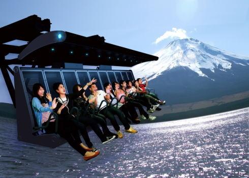 富士飛行社、富士急に4DXみたいな日本初フライト映像ライドが7月登場