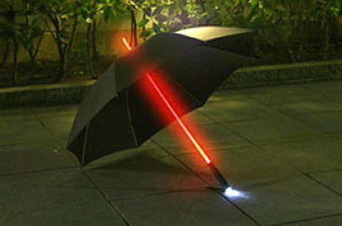 ライトセーバー風 傘