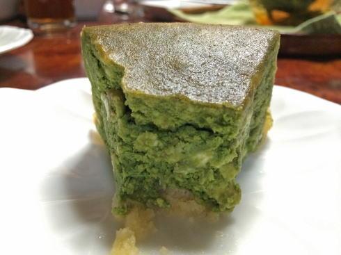ルフランの野菜ケーキ ほうれん草2