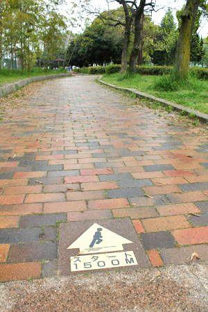 千田公園 ランニングコース