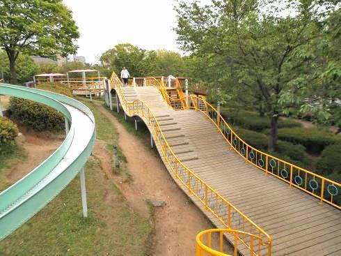 千田公園 アスレチック画像3