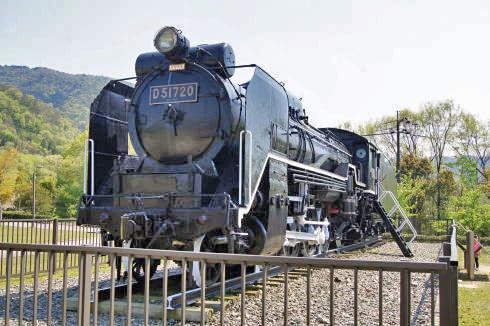 瀬野川公園 機関車