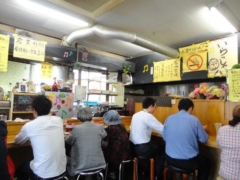 広島祇園 ザ・ラーメン 店内の様子
