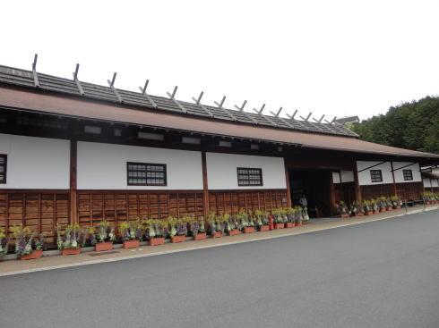 松江フォーゲルパーク 長屋門