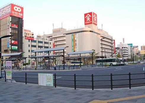 福山駅のバス乗り場