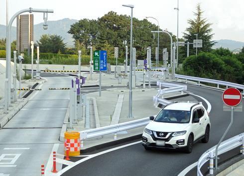 福山SA(上り線)のスマートインターチェンジ