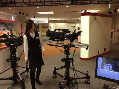 NHK広島放送局 ハートプラザ バーチャルスタジオ3