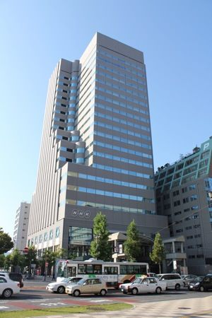 NHK広島放送局 外観