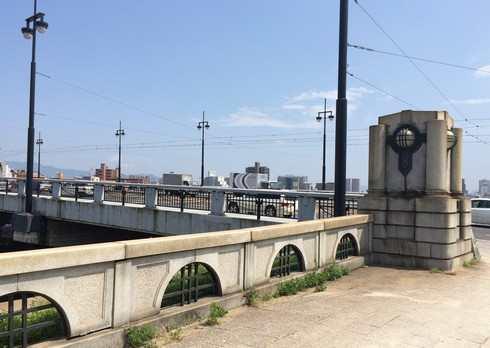 広島市 御幸橋の風景