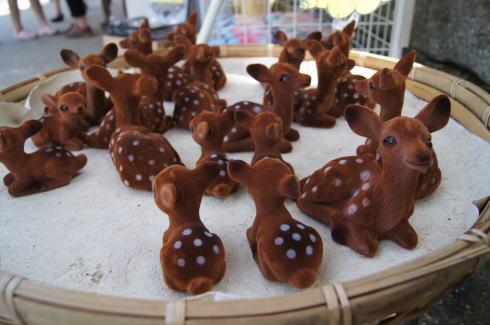 宮島の鹿の土産