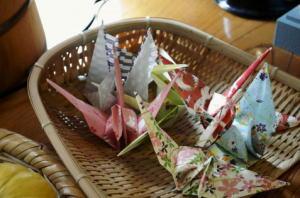 折り鶴 画像