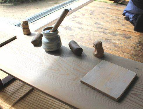 持光寺、尾道でにぎり仏の道具