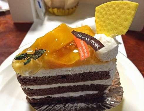 サントノーレのマンゴーショートケーキ