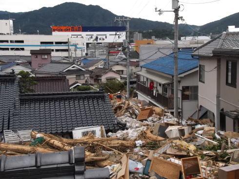 広島土砂災害 現場の写真3