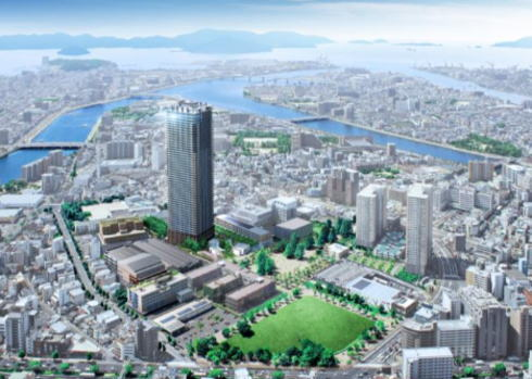 広大跡地に 広島ナレッジシェアパーク、新たな街が2018完成へ