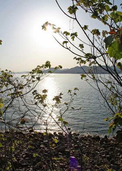 高根島からの眺め