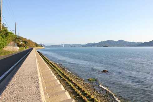 高根島から海の眺め