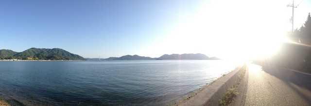 高根島へドライブ・サイクリング