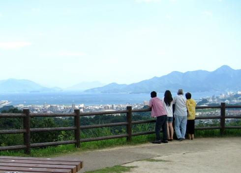 宮島SA(下り線)からの眺め