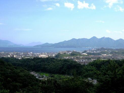 宮島SA(下り線)からの眺め2