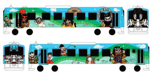 JR三江線 神楽ラッピング電車デザイン決定!9月に運行開始