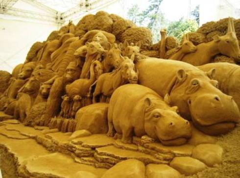 砂の美術館、2015テーマは「ドイツ」に決定