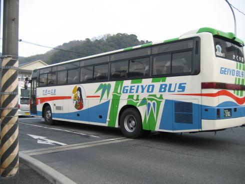 竹原のバス