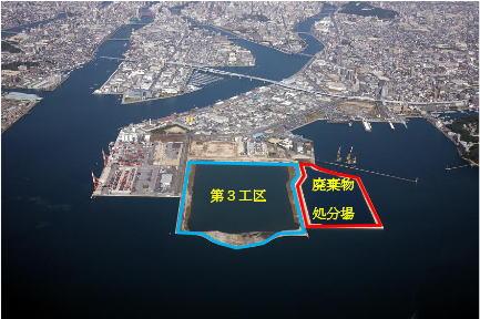 広島土砂災害の 土砂・廃棄物は出島で埋め立て、緑地に