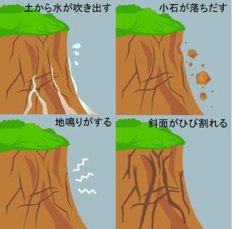 29日・30日もまた雨、土砂災害の前兆に警戒を