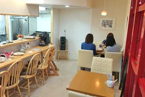 庄原 ひだまりカフェ 店内の写真