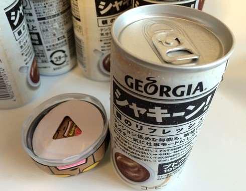 キン肉マン×ジョージア、全6種類の缶コーヒー